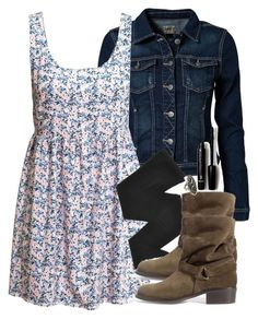"""""""Allison Inspired Outfit with Requested Dress"""" by veterization ❤ liked on Polyvore"""