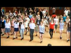 So neat!  St Patricks Day 2011 - Riverdance Flashmob (Central Station, Sydney, Australia)