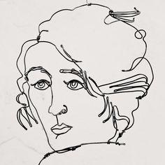 Wire sculpture - Alexander Calder