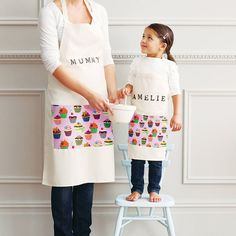 Are you interested in our personalised apron? With our gift for Mothers day you need look no further.
