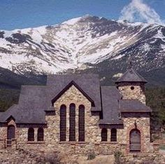 I LOVE THIS CHURCH IN ESTES!  I WISH I COULD GO INSIDE SOME DAY!
