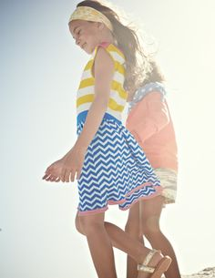 Colourful Summer Knitted Dress