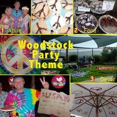 Woodstock Party Theme