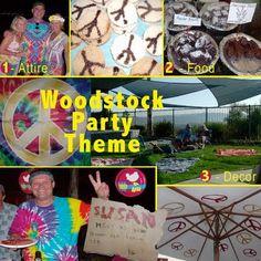 Woodstock Party Theme