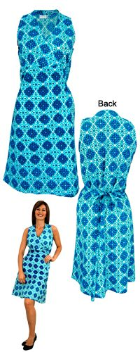 Royal Rosettes Wrap Dress at The Animal Rescue Site