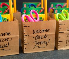 For a student starting school, the beginning of the year is hectic. Make your own back to school survival kit and stay prepared for anything!