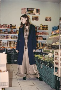 muun - The Robe // Fashion for all day, every day: A morning robe for day and night. Made of 100% organic cotton. // Mode für immer und jeden Tag: Ein Morgenmantel für Tag und Nacht. Hergestellt aus 100% biologisch-zertifizierter Baumwolle. // Lookbook by Stefan Dotter
