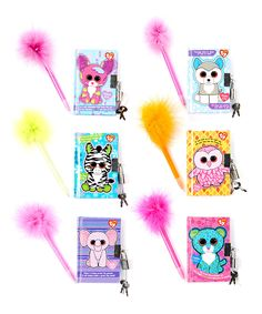 Loving this Mini Diary & Pen - Set of Six on #zulily! #zulilyfinds