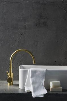 Icon Sink Mixer Eco Brass