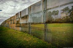 old border fence .