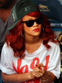 Rihanna's lipstick!! Come check it out!! #Riri