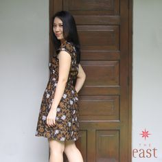 Modern style of batik dress, blouse, tops, for young sophisticated ladies.  https://www.facebook.com/theeastindonesia #theeast #batik #dress #blouse #madeinindonesia
