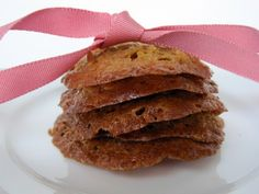 Honey Oat Lace Cookies - gluten-free