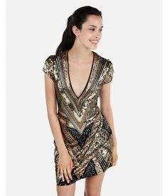 4e966318a077 Sequin Embellished Cami Dress | Express | Express Wishlist in 2018 | Dresses,  Clothes, Cami