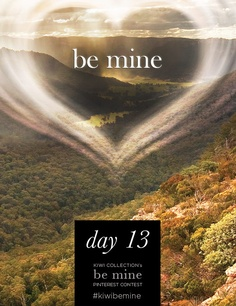 912297dcbfde Day 13 of Kiwi Collection s Be Mine Pinterest contest! Last chance to pin  your dream