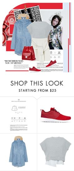 """""""Sin título #2256"""" by liliblue ❤ liked on Polyvore featuring NIKE, Steve J & Yoni P, 10 Crosby Derek Lam and Loeffler Randall"""