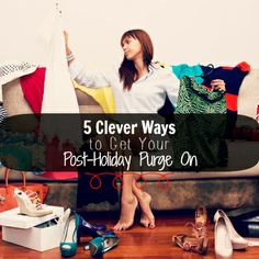 5 Clever Ways to Get Your Post-Holiday Purge On | ApartmentGuide.com #holiday #Christmas #organization #organize #clean #party #decorations #leftover #food #wine