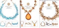 Check out the amazing jewelry that my friend & cousin Deborah Liebman creates: www.deborahliebman.com. These necklaces are made from blue topaz, gold, citrine, garnets, gold, champagne citrine, sterling