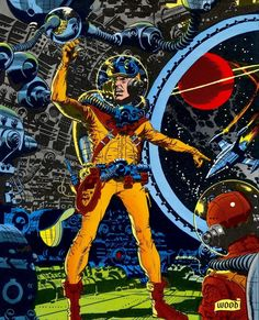 Wally Wood astronaut