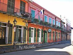 New Orleans French Quarter 8x10 print, $20