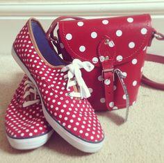 @ faiiinted: How cute is my new zatchels ?! It matches my @Keds_UK !  I think I'm having Disneyland withdrawals...