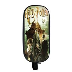 Harry Potterbook cover Pencil case School work office accessories holder wallet purse bag house quiz cursed child spells books quotes