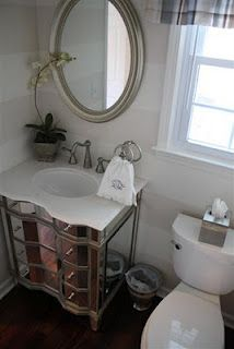 Vanity Cabinet Hammered Copper And Basins On Pinterest
