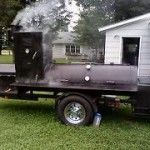 Building a Large and Mobile Smoker on a Budget