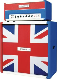 Hiwatt Union Jack Stack