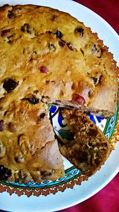 Lots of Fruits and Nuts Cake