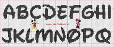 Uma semana de muita produtividade a todos!!!  Hoje trouxe maravilhosos monogramas do Mickey e da Minnie feitos pelas fadinhas Carina Abreu  ...