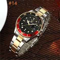 Deerfun Men watch luxury casual business diamond famous brand stainless steel waterproof classic calendar quartz wristwatches