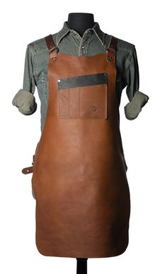 Tobacco Work Apron - The Best Seller – Calavera Tool Works Hard Wear, How To Wear, Industrial Interiors, Industrial Office, Industrial Stairs, Industrial Closet, Industrial Shop, Industrial Restaurant, Kitchen Industrial