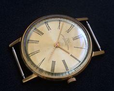 LUCH (Poljot) 2209 23J Gold Plated Soviet Russian Watch AU USSR 100%Original #Luch #DressFormal