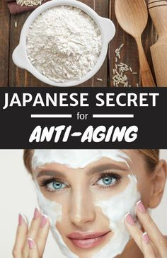 Super-Effective Japanese Rice Face Mask Having Great Anti-Aging Effects #antiaging #skin #skincare #diy #beautytips #facemask #masks #antiagingremedies #AntiAgingMask Beauty Hacks For Teens, Natural Hair Mask, Natural Face, Japanese Rice, Japanese Mask, Baking Soda Shampoo, Get Rid Of Blackheads, Clean Face, Beauty Care