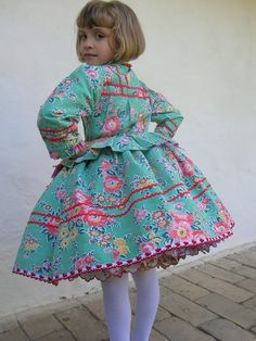 Girl dress from Doroszló, Serbia Folk Costume, Costume Dress, Costumes, Little Girl Fashion, Kids Fashion, Hungarian Girls, Kids Around The World, Cute Girl Outfits, Daddys Girl