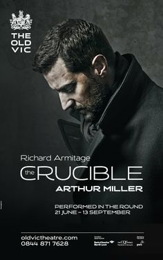 Twitter / oldvictheatre: The Crucible starring Richard Armitage - 2