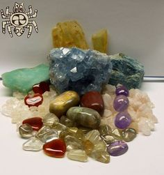 The Animal Totem for this week is Spider.  The eight legs represent the 4 Winds of Change & the 4 directions of the Medicine Wheel. Symbolizes: Feminine Energy, Patience, Receptivity, Creativity, Weaver of life's fate. Crystals: Amazonite, Ametrine, Petrified Wood, Morganite, Celestite, Carnelian, Goshenite, Rutilated Quartz, Apatite, Amber. For more info go to https://www.facebook.com/crystaltalk