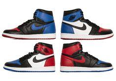 """#sneakers #news  Best Look Yet At The Air Jordan 1 """"Top Three"""""""