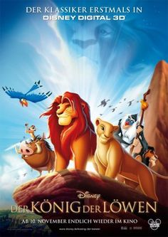 The Lion King Poster from Germany