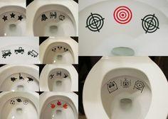 Toilet Targets!