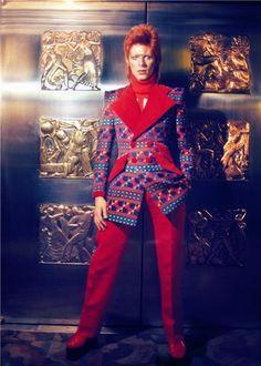 "David Bowie, ""Hang onto Yourself""   Masayoshi Sukita"