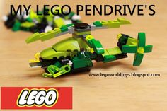 New Review LEGO Pendrive's Flash Drivers my collection.