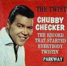 Chubby Checker - the twist - http://www.youtube.com/watch?v=r28ONuvA9rA