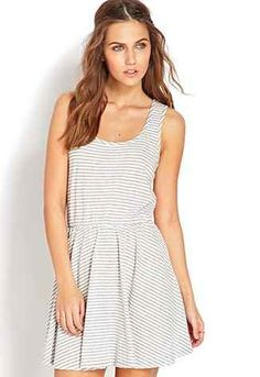 Forever 21 Striped Fit
