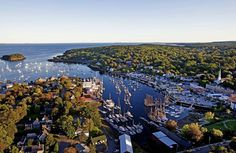 8 of the Most Delightful Towns in the World ~ Camden, Maine World's Most Beautiful, Beautiful Places, Amazing Places, The Places Youll Go, Places To See, Resorts, Camden Maine, Rockland Maine, Camden Town