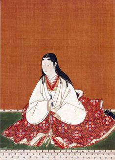 Japan, hanging scroll, Portrait of Oichi no Kata, wife of Nagamasa Asai