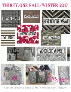 Thirty One Gifts Fall/Winter 2017 BEST OF FALL Mini Catalogue ...