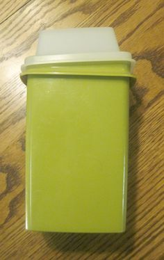Vintage avacado green Tupperware olive or pickle container. Sweet Memories, Childhood Memories, Vintage Tupperware, Vintage Avon, Ol Days, The Good Old Days, Pyrex, Retro, Paper Dolls