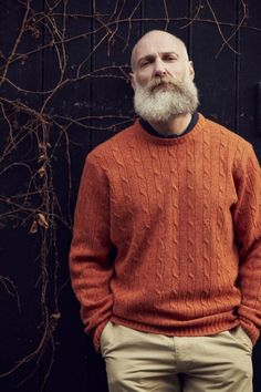 The importance of a well-made sweater ~ Old Man Fancy.
